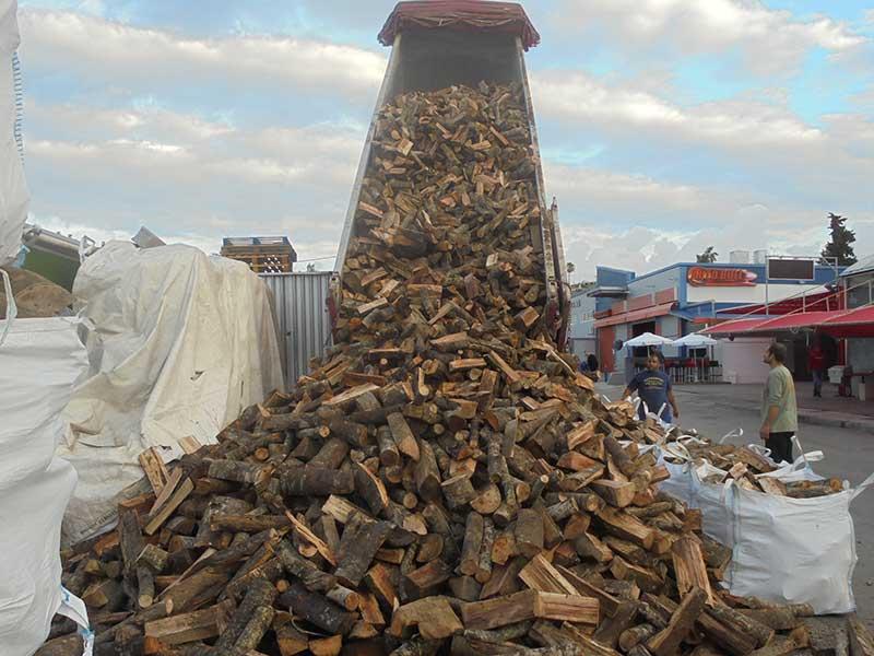 συχνές παραλαβές από ξερά καυσόξυλα